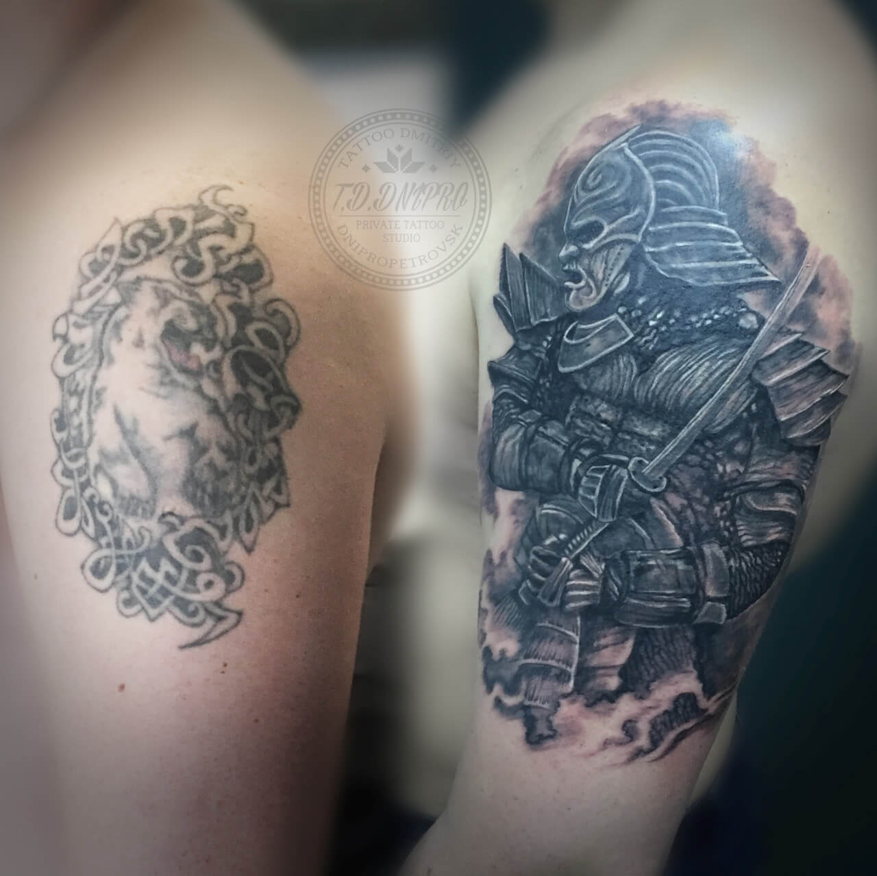 Tattoo Cover Up Krieger