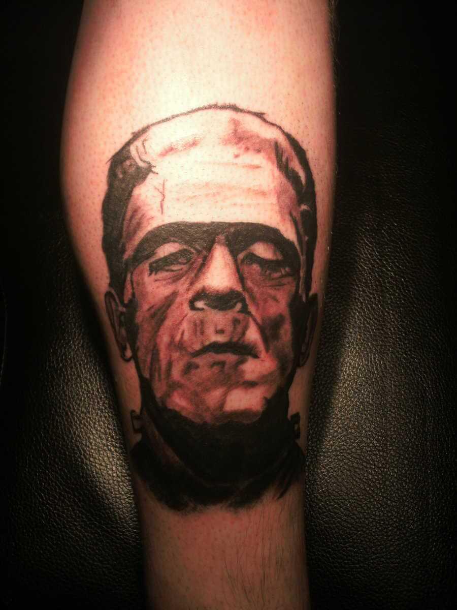 Tattoo Frankenstein