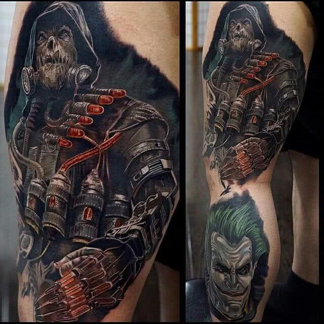Tattoo Horror Zombie