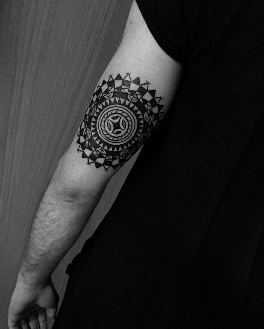 Tattoo Maori Mandala