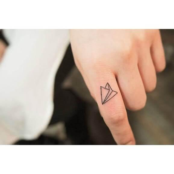 Tattoo Papierflieger