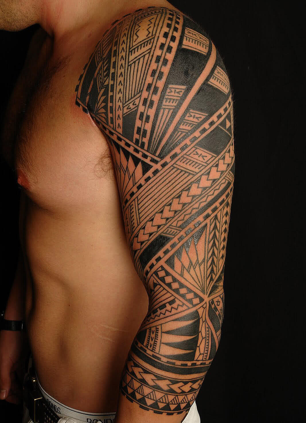 Tattoo Polynesisches Muster