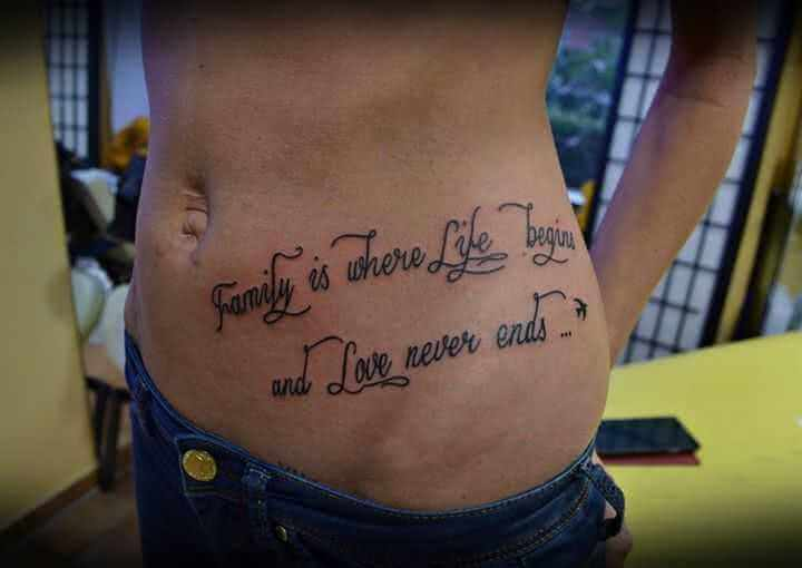 Tattoo Tattoospruch