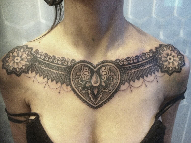 Tattoo Verzierte Kette