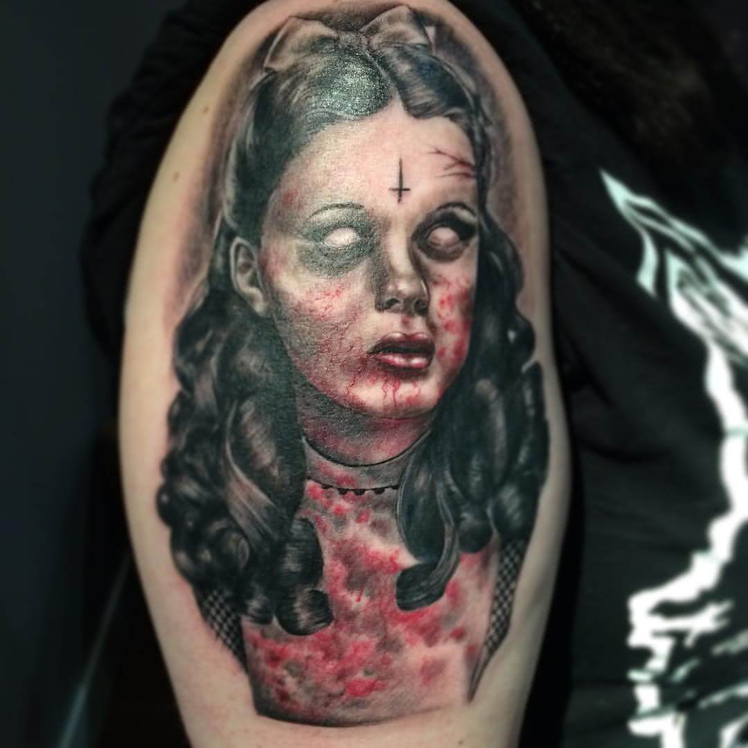 Tattoo Zombie-Kinde