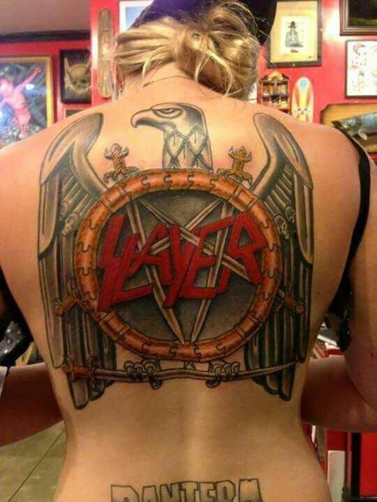 Tattoo SLAYER – Band Logo