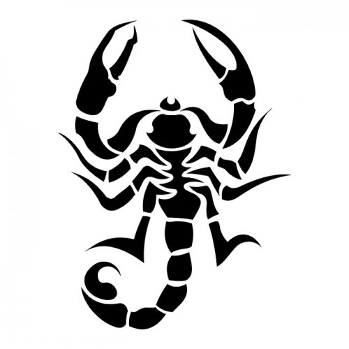 Pentagram Tattoo Stencils