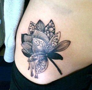 Flor con detalles