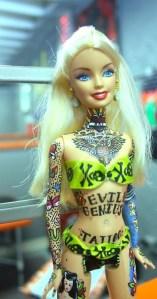 Barbie tattoo