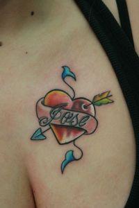 Corazón, Flecha y Nombre