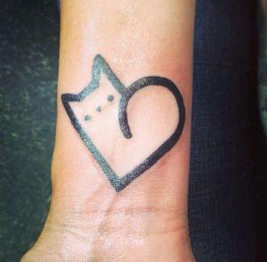 Corazón Gatito