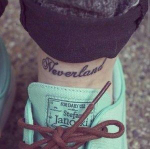 Frase: Neverland