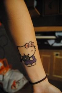 Hello Kitty Fotógrafa