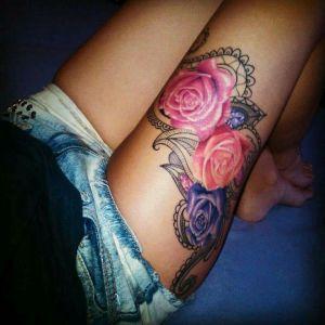 Rosas con Paisley