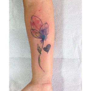 Tulipán y Corazón