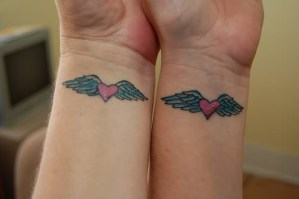 Corazón con Alas para Parejas