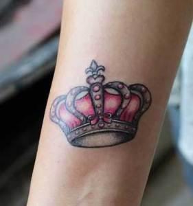 Corona de Reina con Moño