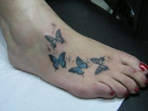 Mariposas y Destellos