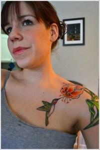 Picaflor en Flor de Lirio