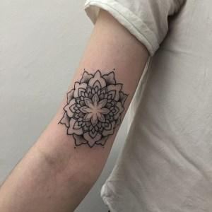 Mandala by Sashatattooing