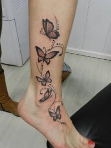 Mariposas y Puntos