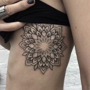 Flor Mandala by Sashatattooing