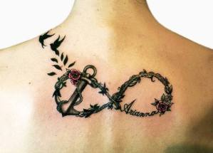 Signo Infinito, Ancla, Aves y Nombre