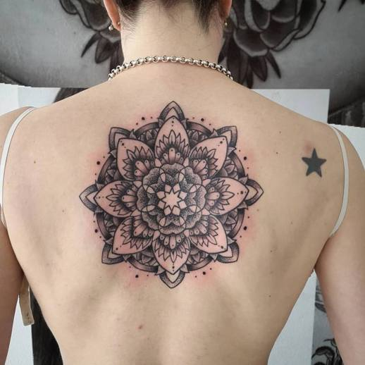 Mandala by Buena Vida Tattoo Studio