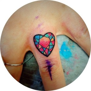 Corazón Vitreaux