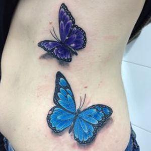 Mariposas estilo 3D
