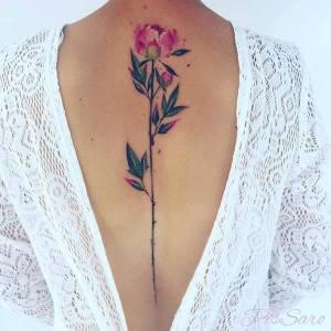 Flor por Pis Saro