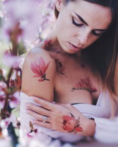 Pis Saro, Artista del Tatuaje Botánico