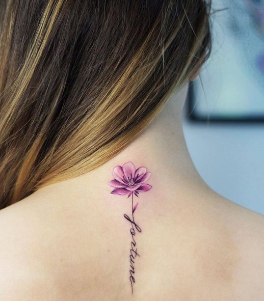 Frase: Fortune y Flor