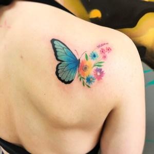 Mariposa Flores