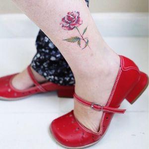 Flor Rosa por Luiza Oliveira