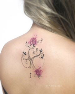Árbol de Rosas por Maryeink