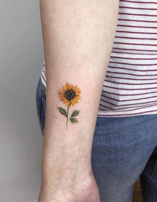 Flor Girasol pequeña