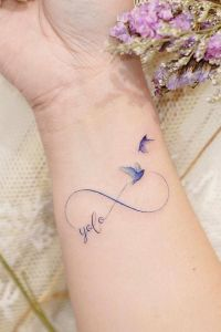 Símbolo Infinito, Frase: YOLO y Aves