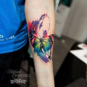 Mariposa Acuarelas por Zelenska Kateryna