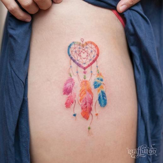 Atrapasueños por Graffittoo Tattoo Studio