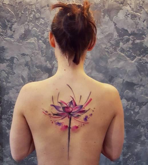 Flor de loto por Simona Blanar