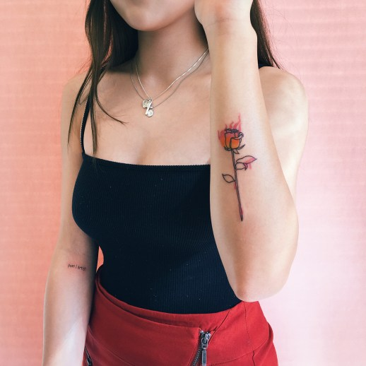 Rosa Roja por Nawon, Take My Muse