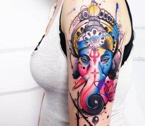 Ganesha explosión de colores