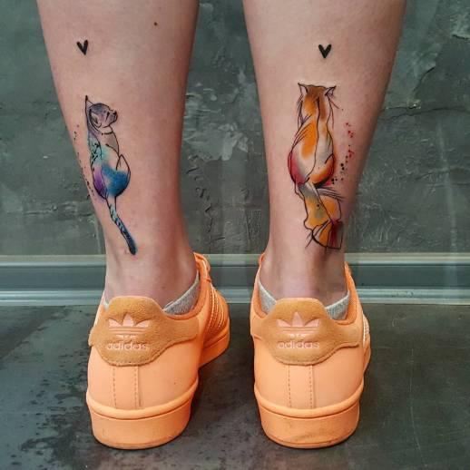 Gatitos in love por Simona Blanar