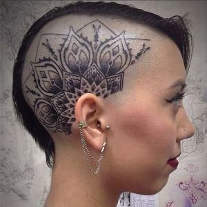 Mandala estilo flor de loto