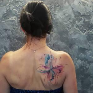 Mariposa por Simona Blanar