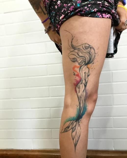 Sirena por LCjunior Tattoo