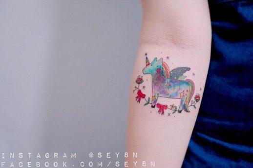 Unicornio por Seyoon Gim
