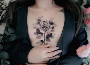 Flor rosa por Mish Mishbae