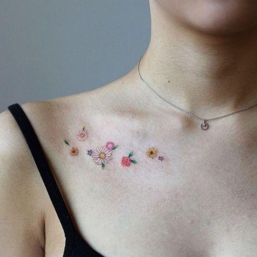 Florecillas pequeñas